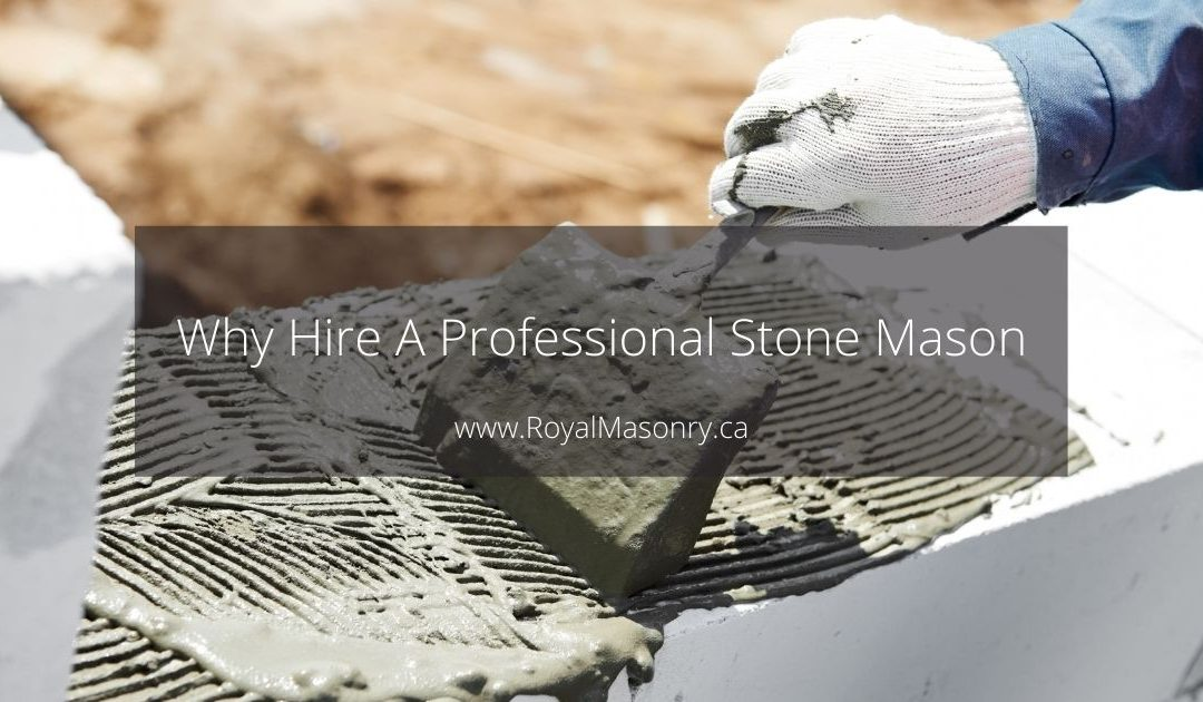 Reasons to Hire A Professional Stone Mason to Build Your Flagstone Walkways