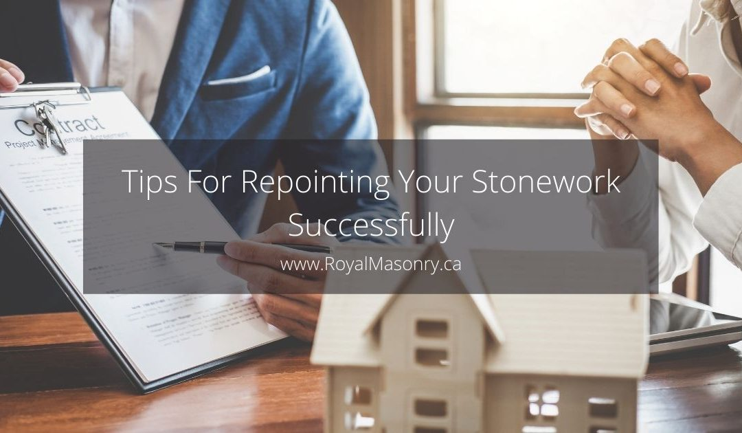 3 Simple Tips For Repointing Your Stonework Successfully